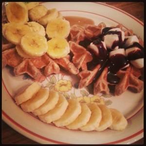 La de Blog - Vegan Chia Waffles