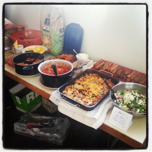 La De Blog - Earth Day Potluck