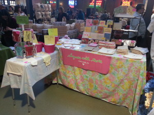 La De Blog - Rhymes with Twee Booth Set-Up @ Show of Hands @ Ravenswood Event Center