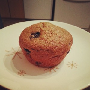 La De Blog - Vegan Blueberry Muffins