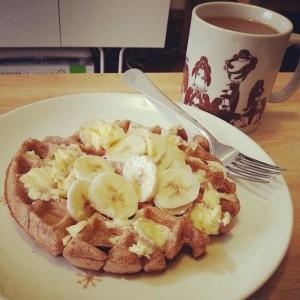 La de Blog - Vegan Waffles