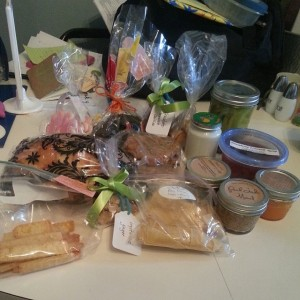 La De Blog - 2014-04-06 Chicago Food Swap - my haul
