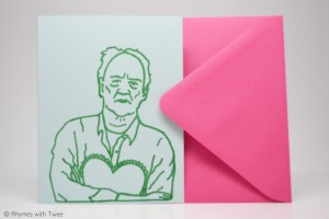 Rhymes with Twee - Werner Herzog Love Card