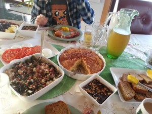 La De Blog - Greenhouse Bed & Breakfast in Kempton, IL - Breakfast