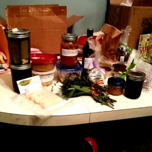 La De Blog - Vegan Food Swap Chicago 2014-11 what I swapped for