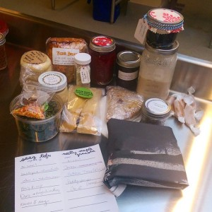 La De Blog - 2015-02-15 Chicago Food Swap - my haul