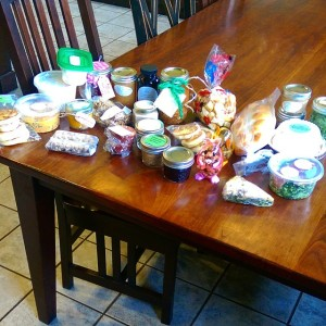 La De Blog - 2015-03-15 Chicago Food Swap - my haul